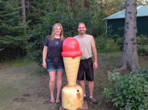 Mark & Colleen Meinen - Come in and enjoy ice cream.